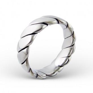 """Prsten z chirurgické oceli """"Svěžest """""""